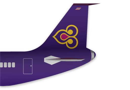 thai airways tail